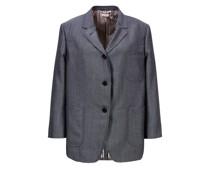 Woll-Mohair-Blazer 'Sack Jacket'