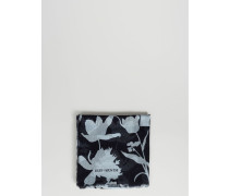 Tuch mit floralem Muster 'Zelma' Navy/Dust