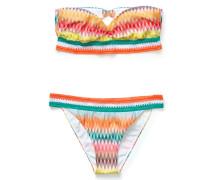 Bikini mit Zickzack-Print Multi/Multi