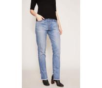 Jeans 'Serena Slouchy Straight Leg' Hellblau