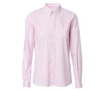 Gestreifte Bluse 'Anna' Pink/Weiß