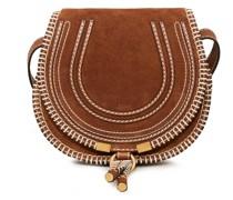 Umhängetasche 'Marcie Mini Saddle Crafty' Tan