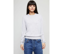 Leichter Woll-Pullover 'Norma' Light Grey