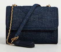 Umhängetasche 'Fleming Small' Denimblau