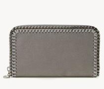 Portemonnaie mit Ketten-Umrandung Grau