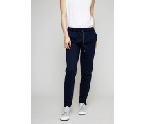 Hose mit elastischem Bund Marineblau