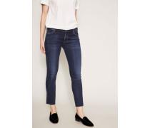 Ultra Skinny Jeans 'Avedon Ankle' Blau