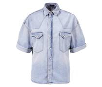 Kurzarm Denim-Shirt 'Cowboy'