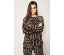 Leichter Cashmerepullover 'Dina' Taupe Jaguar