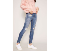 Destroyed Jeans 'Commodore' Blau