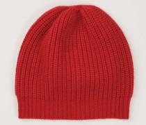 Cashmere-Mütze Red