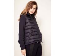 Sweat-Jacke mit Kapuze Marineblau