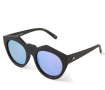 Markante Sonnenbrille 'Neo Noir' Schwarz