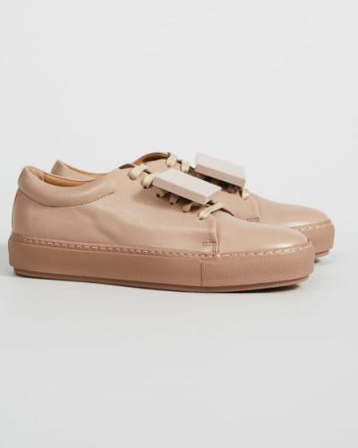 Acne Damen Sneaker 'Adriana' Dusty Pink - Leder