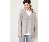 Oversized Pullover 'Deborah' Grey Melange