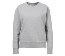 Baumwoll-Sweatshirt Anthrazit