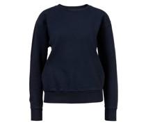 Baumwoll-Sweatshirt Marineblau