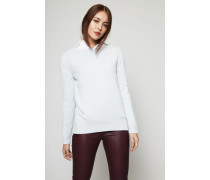 Woll-Cashmere Pullover Aqua