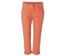 Gerade 7/8-Jeans Orange