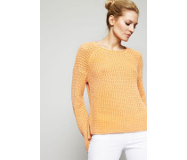 Cashmere-Pullover 'Gabrielle' Papaya