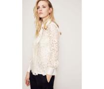 Spitzenbluse 'Rosie' New Ivory