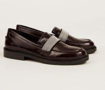 Lackleder Loafer '5 Fashion Street' Berdeaux