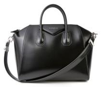 Tasche 'Antigona Small' leicht glänzend Schwarz