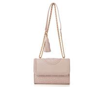 Kleine Schultertasche 'Fleming Small Convertible Shoulder Bag' Rosé