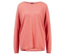 Cashmere-Pullover 'Laniv' mit Rundhalsausschnitt Koralle