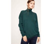 Cashmere-Rollkragen-Pullover Feinstrick 'Lucy' Smaragd