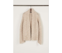 Grobstrick-Cardigan 'Ruth' Taupe