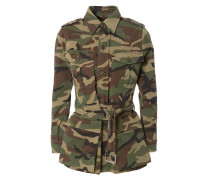 Parka in Camouflage-Optik Grün/Multi