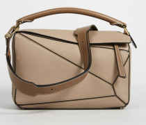 Handtasche 'Puzzle Bag Medium' Sand/Mink