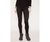 Jeans 'The Farrah Skinny Ankle' Schwarz