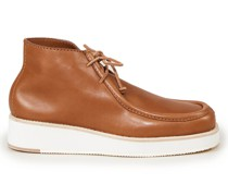 Ankle Boot 'Post' Cognac