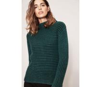 Cashmere-Pullover 'Sabine' Smaragdgrün