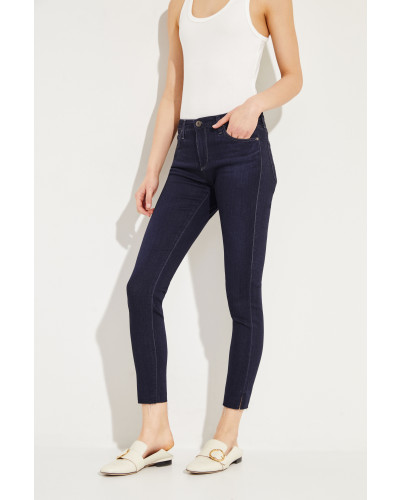 Jeans 'The Legging Ankle' Blau