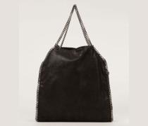 Handtasche 'Falabella Large' Schwarz