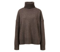 Woll-Cashmere-Pullover mit Rollkragen