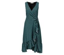 Wickelkleid 'Ruffle Wrap Dress' mit Medallion-Print