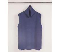Cashmere-Pullunder Blau