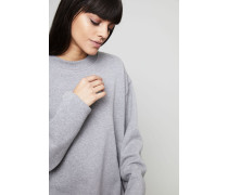 Oversized Sweatshirt 'Karvell' Grey Melange