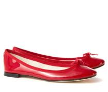 Lackleder-Ballerina 'Cendrillon' Rot