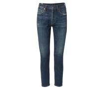 Jeans 'Liya High Rise Classic Fit' Mittelblau