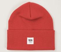 Mütze 'Gerald Tall Beani' Rot