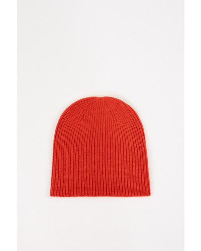 Woll-Cashmere-Mütze Orange