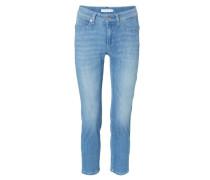 Jeans 'Piper Short' Mittelblau