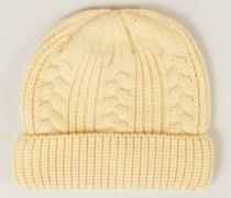 Baby-Cashmere-Mütze Honey Jaune