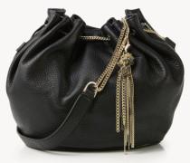Bucket Bag 'Drawstring Large' Schwarz