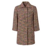 Tweed-Kurzmantel Multi